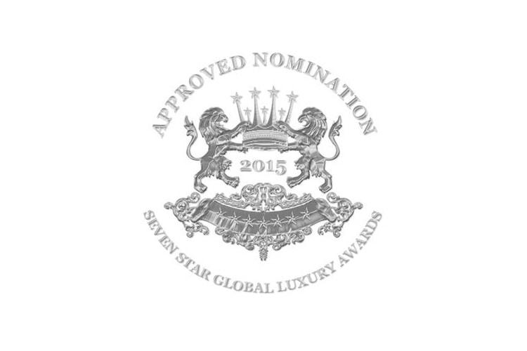 Seven Star Global Luxury Awards Nomination