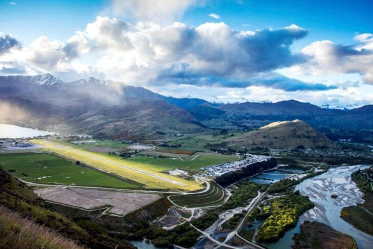 Queenstown Airport nominated World's Most Scenic Airport Landing