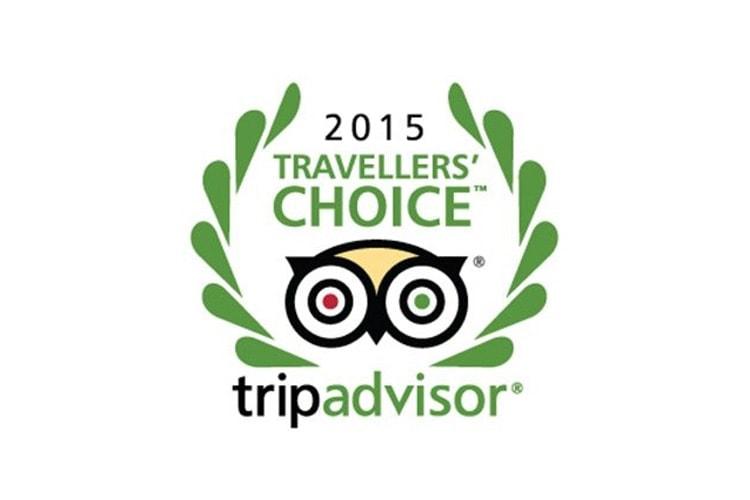 TripAdvisor Travellers' Choice Awards 2015