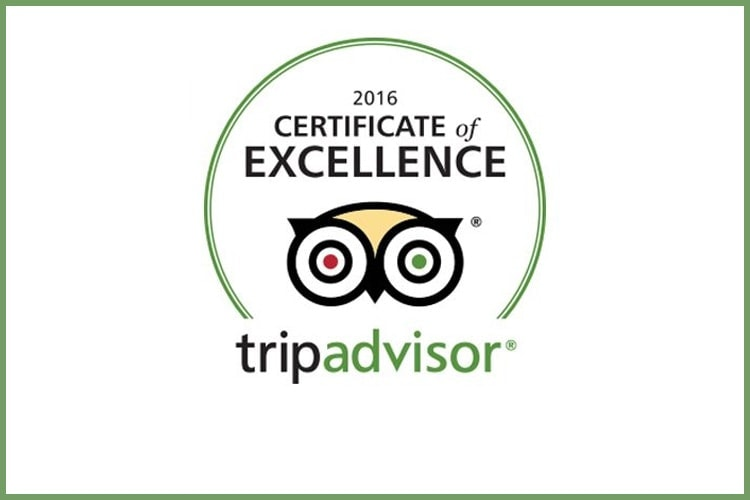 The Spire Hotel Earns 2016 TripAdvisor Certificate Of Excellence