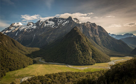 Explore New Zealand's four season destination