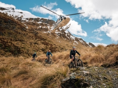 Mountain biking tracks in the south Island